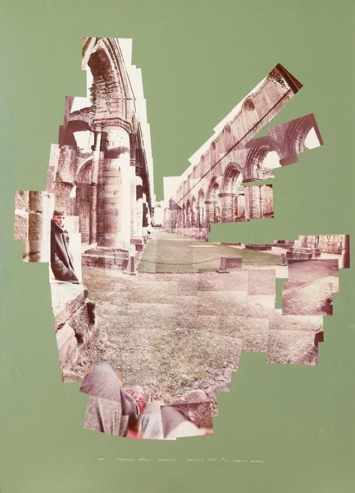 David Hockney, IAN, Çeşmeler Manastırı, Kanvas Tablo, David Hockney
