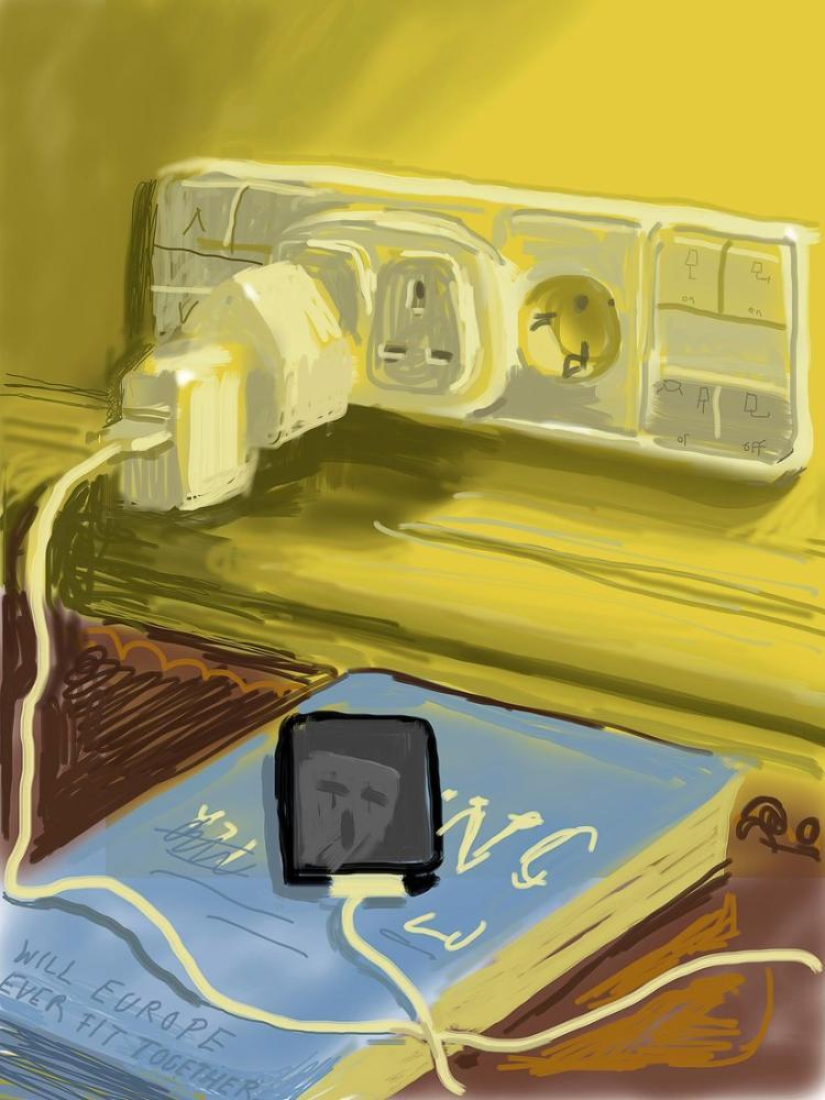 David Hockney, iphone, Kanvas Tablo, David Hockney