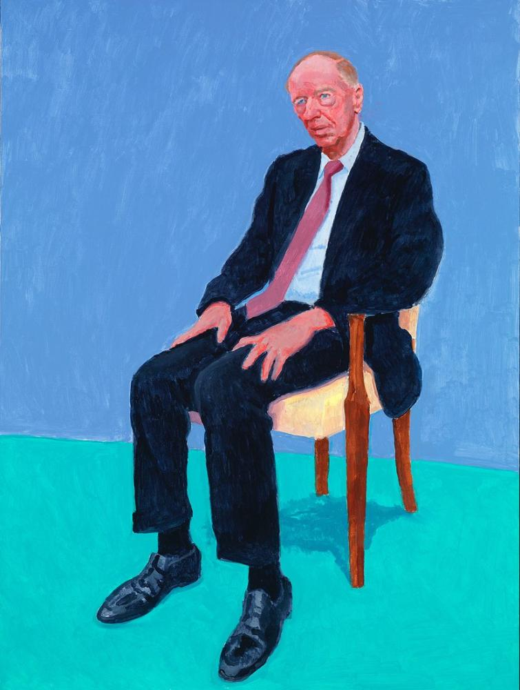 David Hockney, Jacob Rothschild, Figür, David Hockney