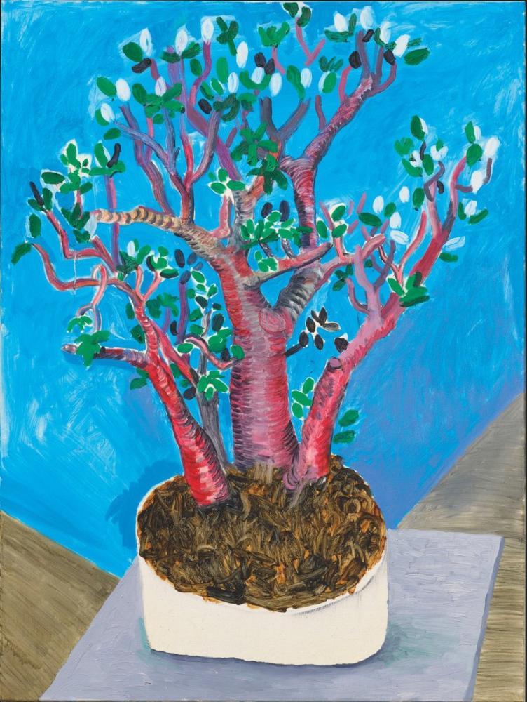 David Hockney, Para Ağacı, Kanvas Tablo, David Hockney