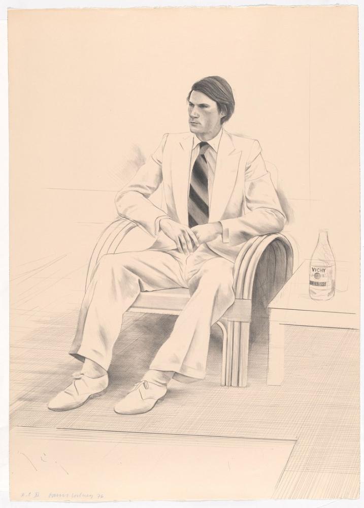 David Hockney, Joe McDonald, Figür, David Hockney