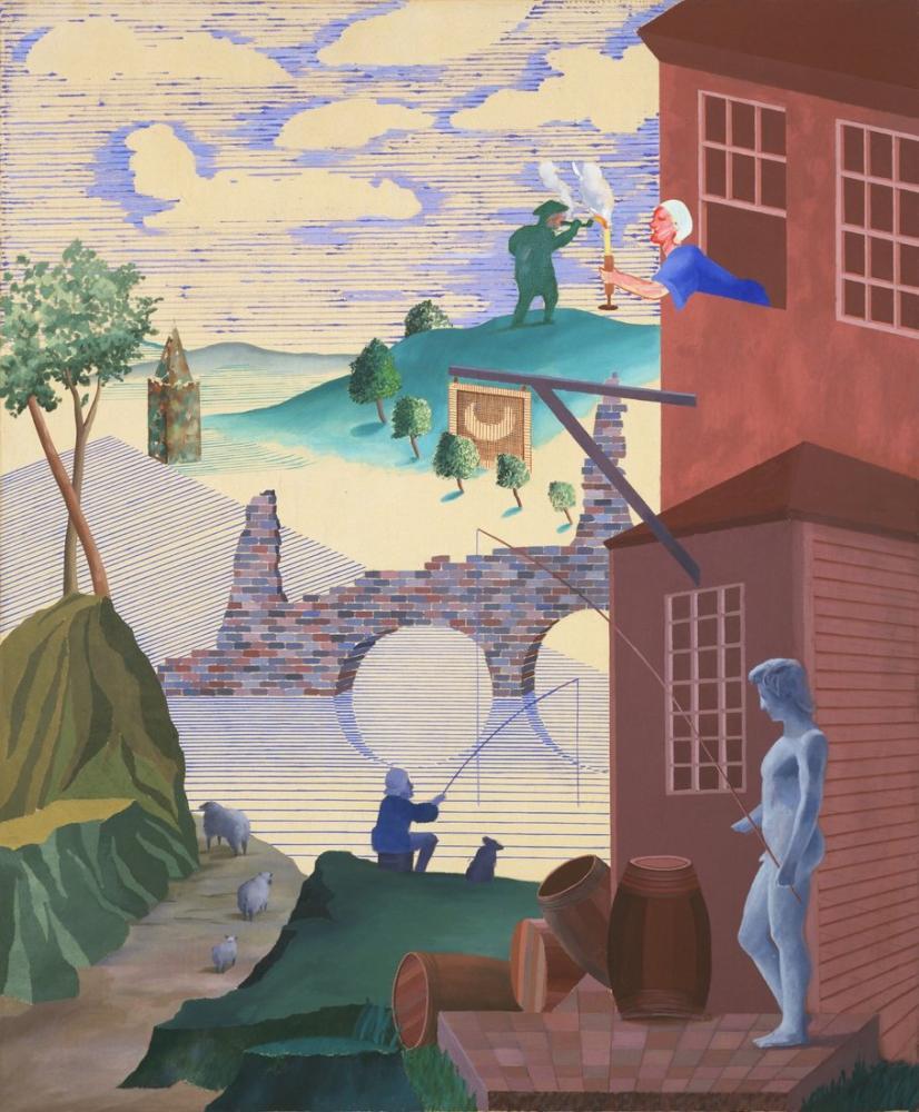 David Hockney, Hogarth'tan Sonra Kerby Faydalı Bilgiler, Figür, David Hockney