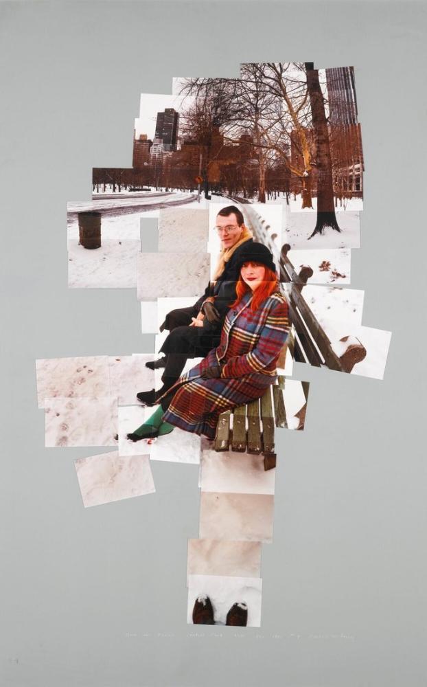 David Hockney, Anne ve David, Kanvas Tablo, David Hockney