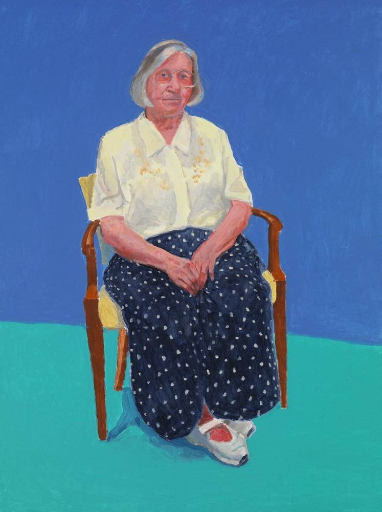 David Hockney, Margaret Hockney, Figür, David Hockney