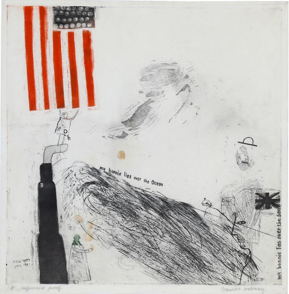 David Hockney, Ben ve Kahramanlarım, Figür, David Hockney
