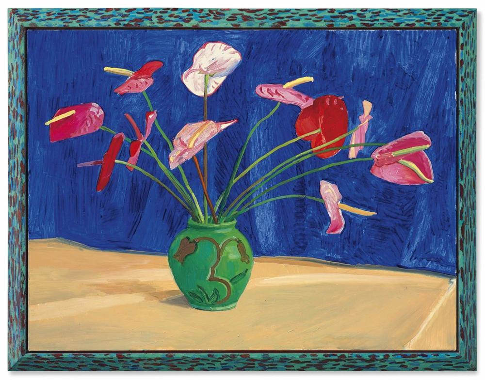 David Hockney, Antoryumlar, Kanvas Tablo, David Hockney