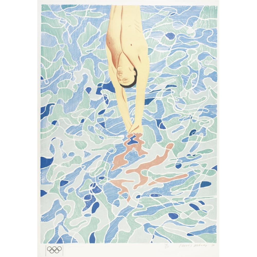 David Hockney, Olimpiyat, Figür, David Hockney