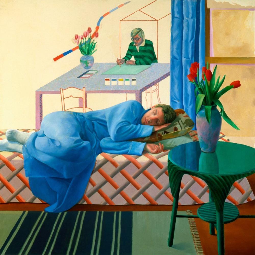 David Hockney, Çalışma Üzerine, Figür, David Hockney