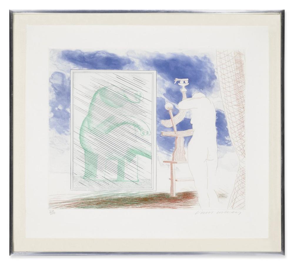 David Hockney, Kendimiz, Figür, David Hockney