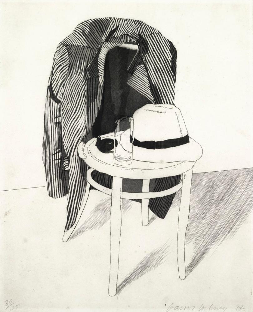 David Hockney, Panama, Kanvas Tablo, David Hockney