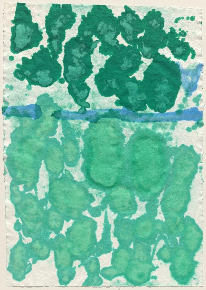 David Hockney, Kağıt Hamuru Testi I, Kanvas Tablo, David Hockney