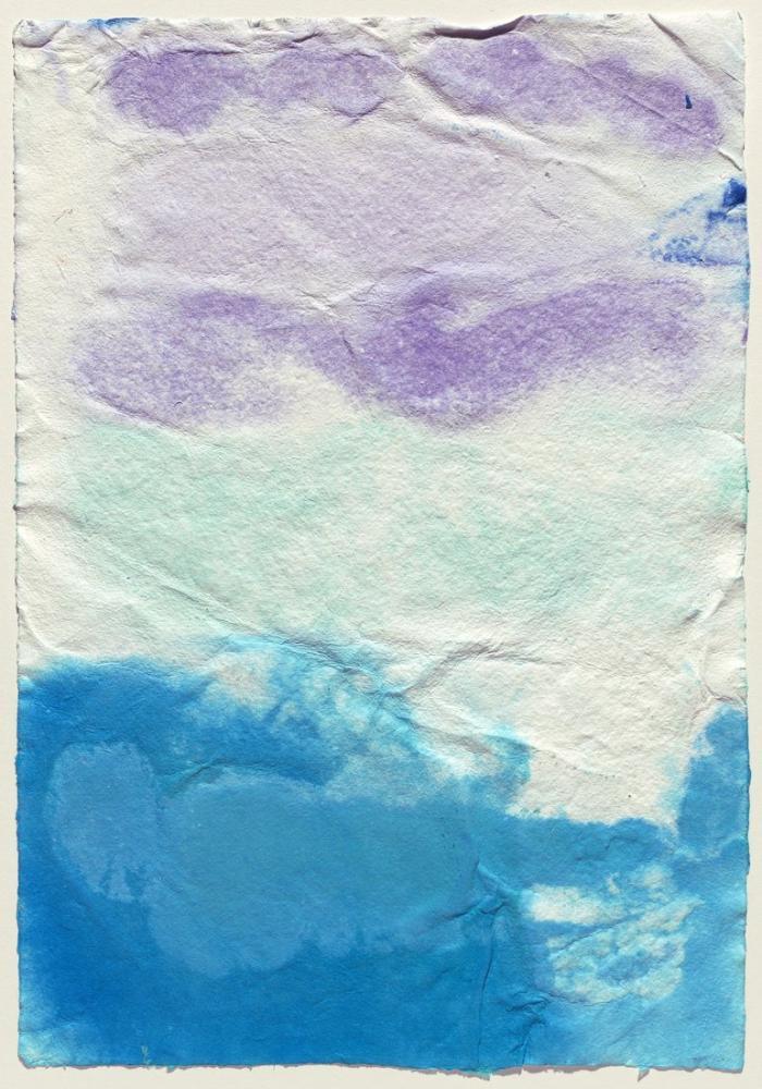 David Hockney, Kağıt Hamuru Testi VII, Kanvas Tablo, David Hockney