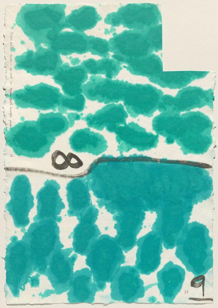 David Hockney, Kağıt Hamuru Testi X 1978, Kanvas Tablo, David Hockney