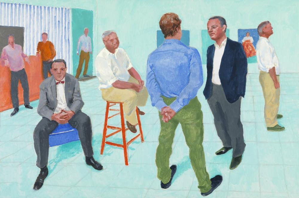 David Hockney, İnsan Grubu, Figür, David Hockney