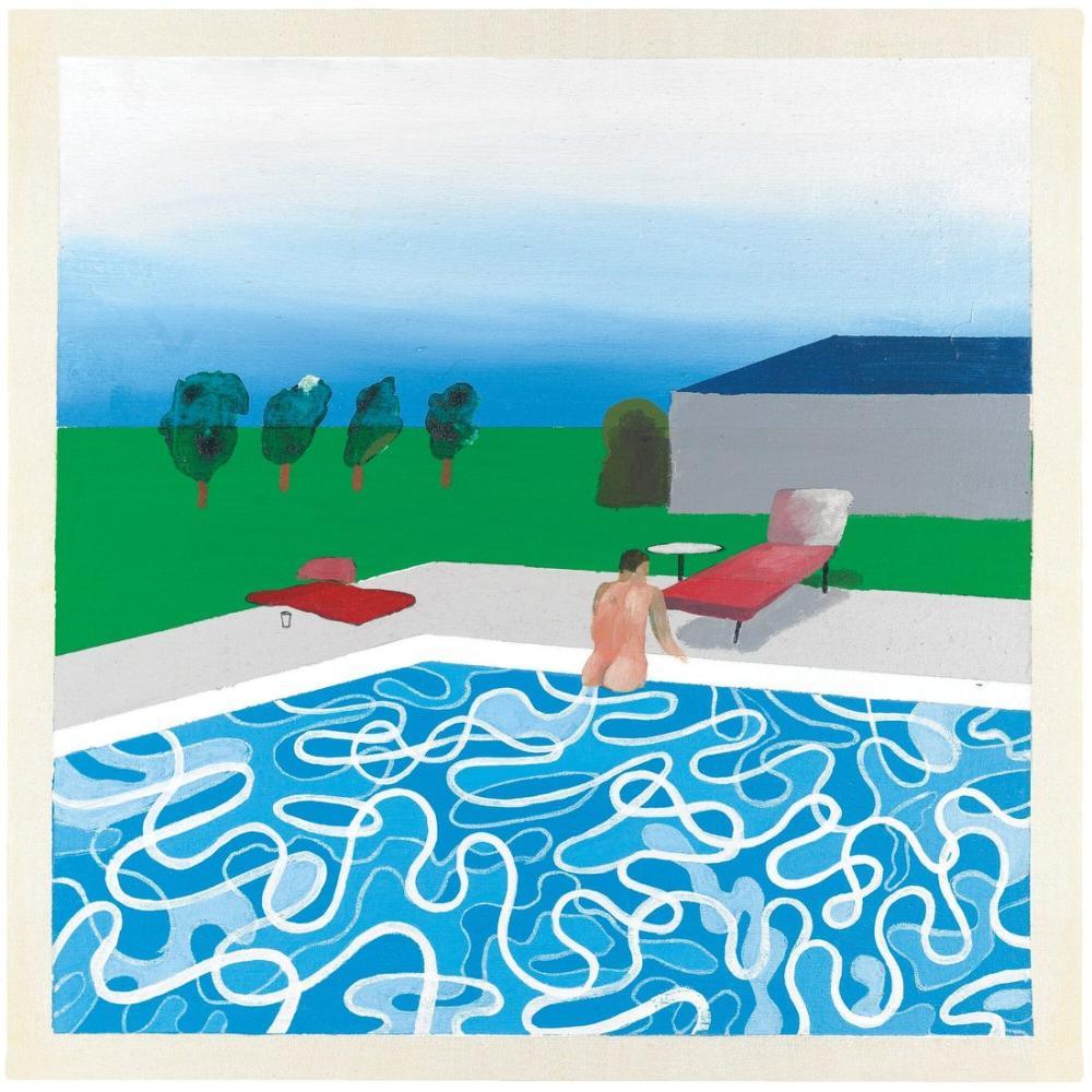 David Hockney, Peter Nick'in Havuzundan Çıkarken, Figür, David Hockney