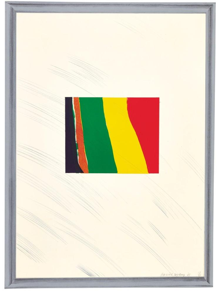 David Hockney, Picture of a Pointless Abstraction Framed Under Glass, Canvas, David Hockney, kanvas tablo, canvas print sales