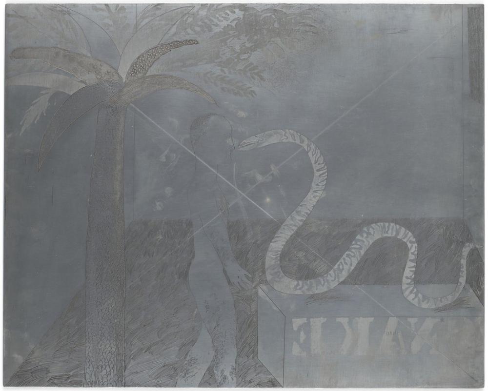 David Hockney, Orman Çocuğu için Plaka, Figür, David Hockney