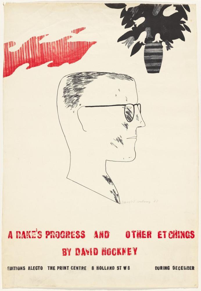 David Hockney, Rake'in İlerlemesi, Figür, David Hockney