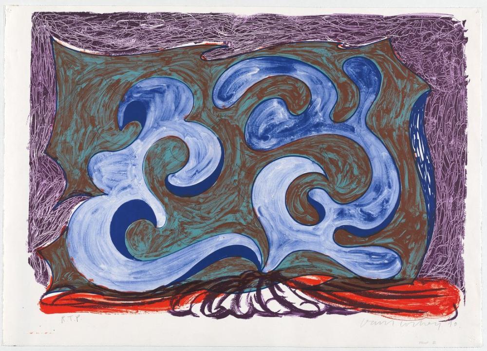 David Hockney, Rampant, Kanvas Tablo, David Hockney