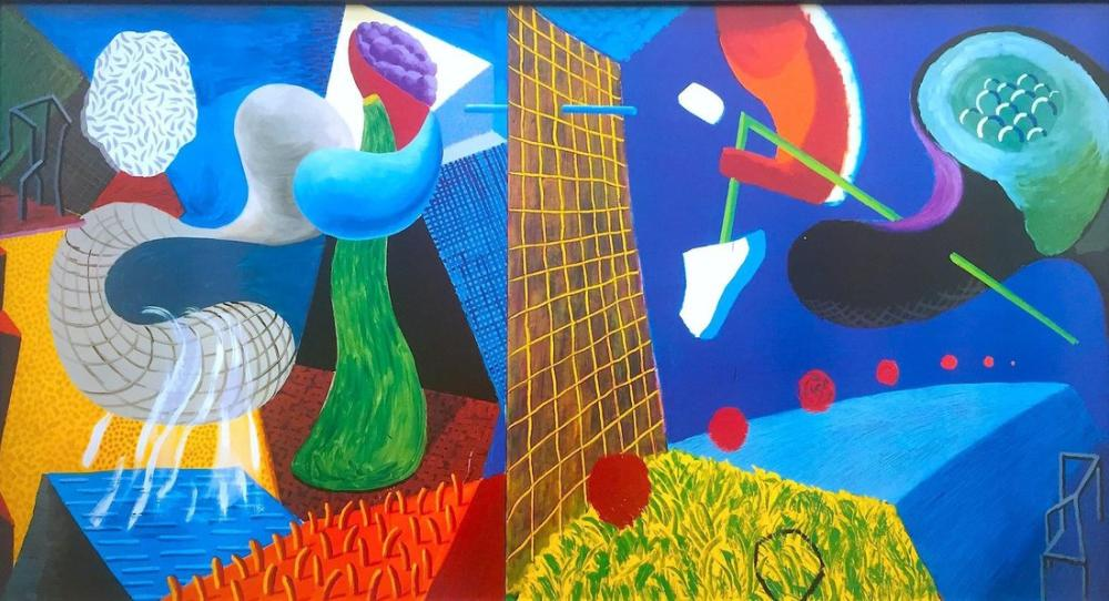 David Hockney, Rare Vintage, Canvas, David Hockney, kanvas tablo, canvas print sales