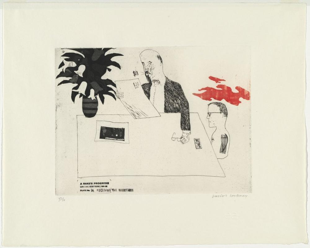 David Hockney, Mirası Almak, Figür, David Hockney, kanvas tablo, canvas print sales