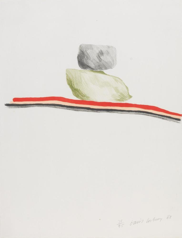 David Hockney, Rocks Nevada, Figure, David Hockney, kanvas tablo, canvas print sales