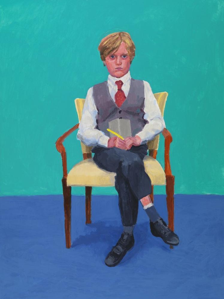 David Hockney, Rufus Hale, Figür, David Hockney