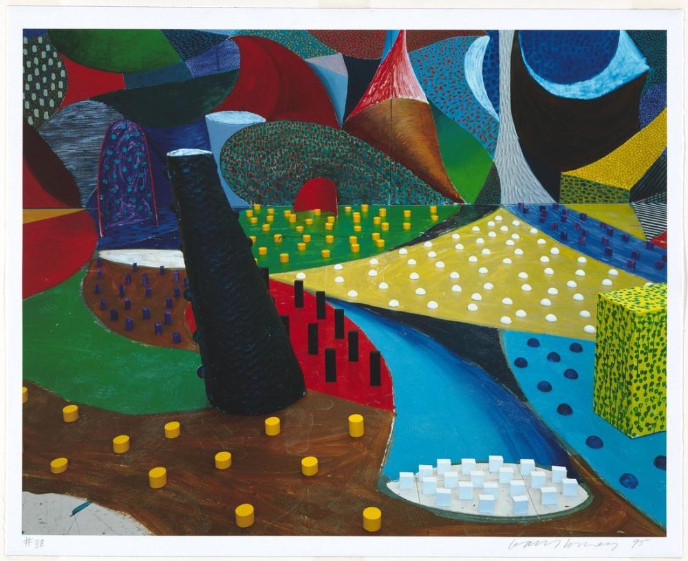 David Hockney, İkinci Detay, Salyangoz Uzay, Kanvas Tablo, David Hockney, kanvas tablo, canvas print sales