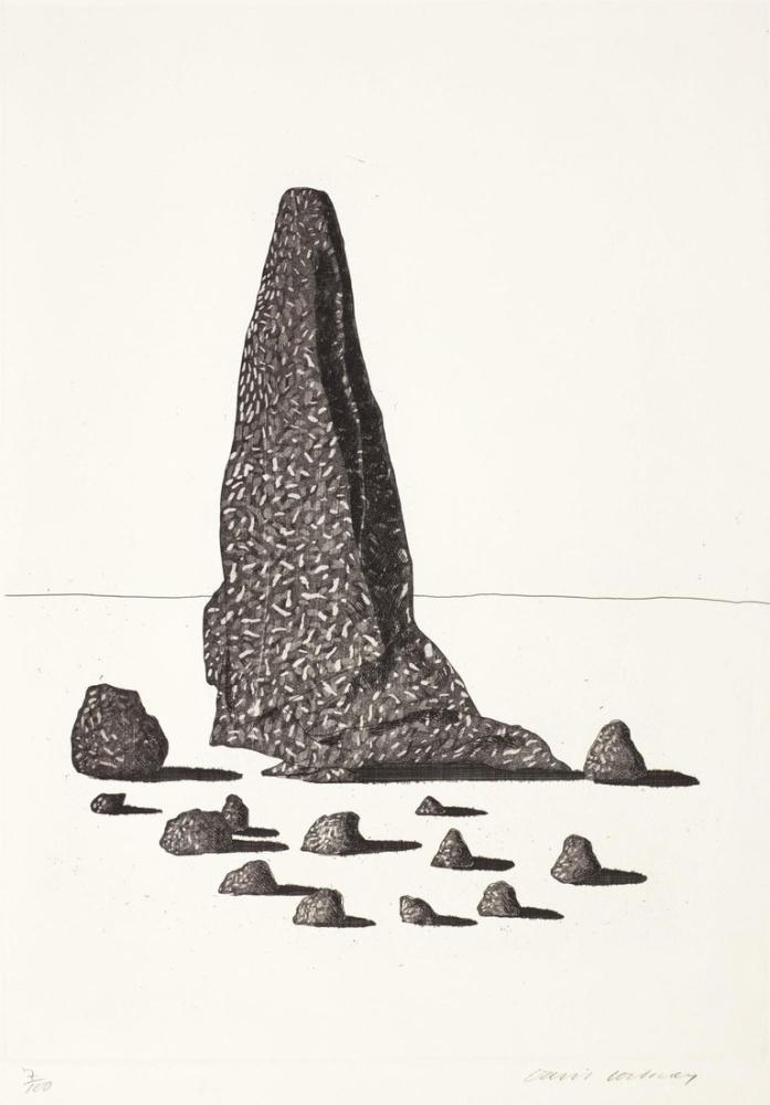 David Hockney, Grimm Kardeşlerden Altı Peri Masalı, Figür, David Hockney