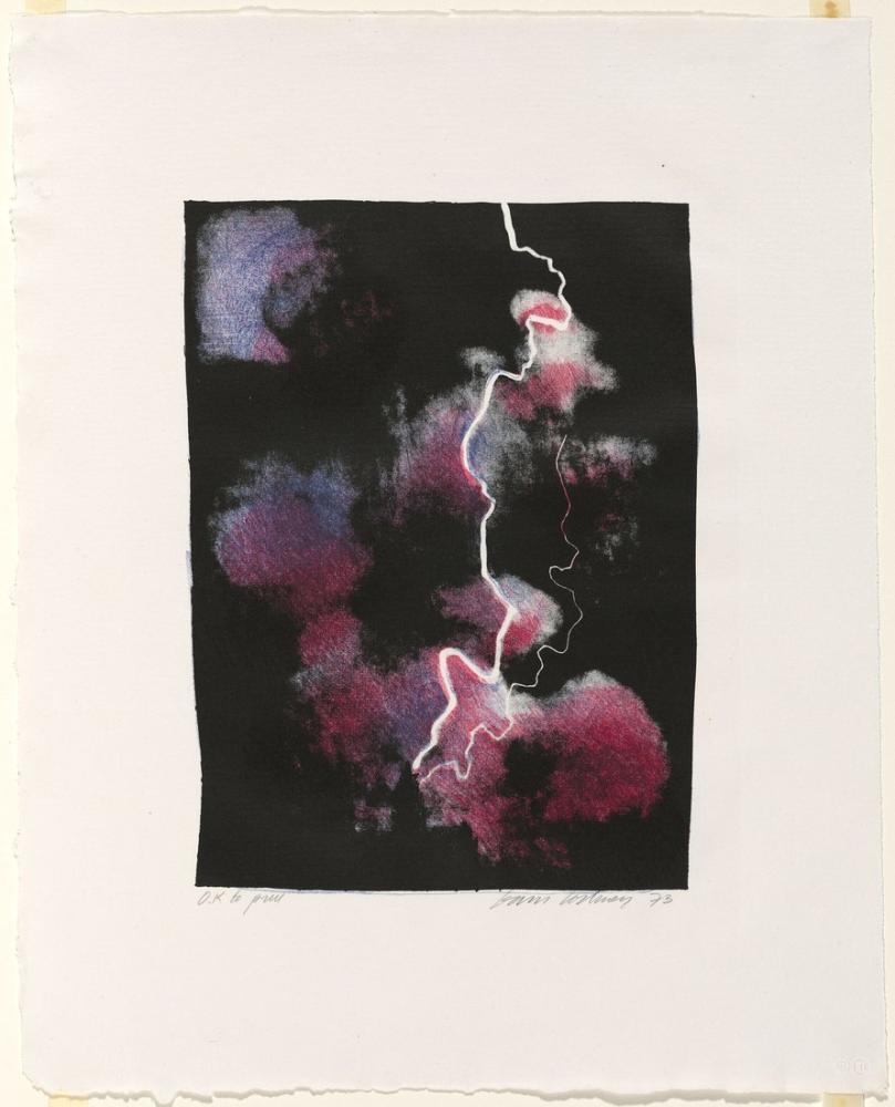 David Hockney, Daha Küçük Yıldırım Çalışması 1973, Figür, David Hockney