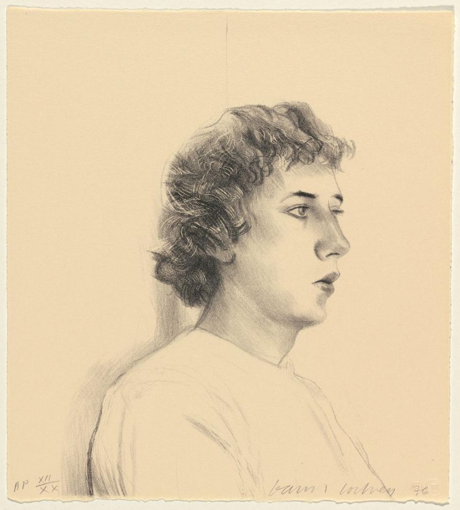 David Hockney, Gregory Küçük Baş, Figür, David Hockney