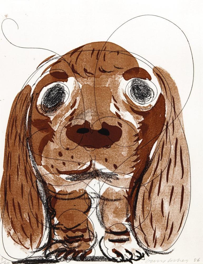 David Hockney, 8 Haftada Stanley, Figür, David Hockney