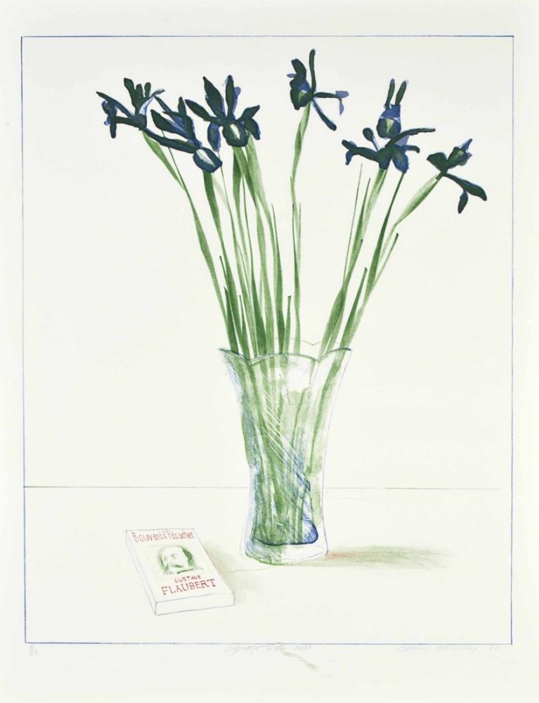 David Hockney, Still Life with Book, Canvas, David Hockney, kanvas tablo, canvas print sales