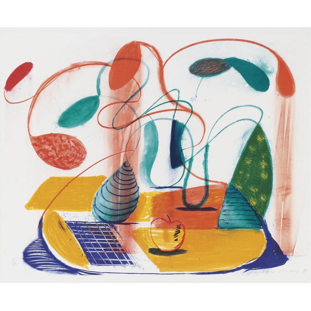 David Hockney, Akıcı Tablo, Figür, David Hockney