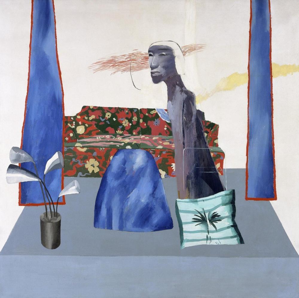 David Hockney, The Actor, Figure, David Hockney, kanvas tablo, canvas print sales