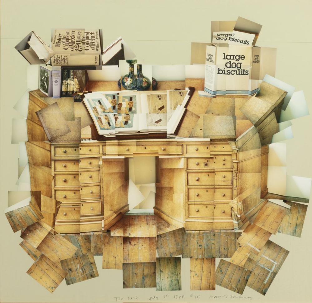 David Hockney, Masa, Kanvas Tablo, David Hockney
