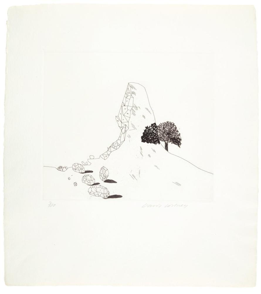 David Hockney, Cam Dağı, Figür, David Hockney