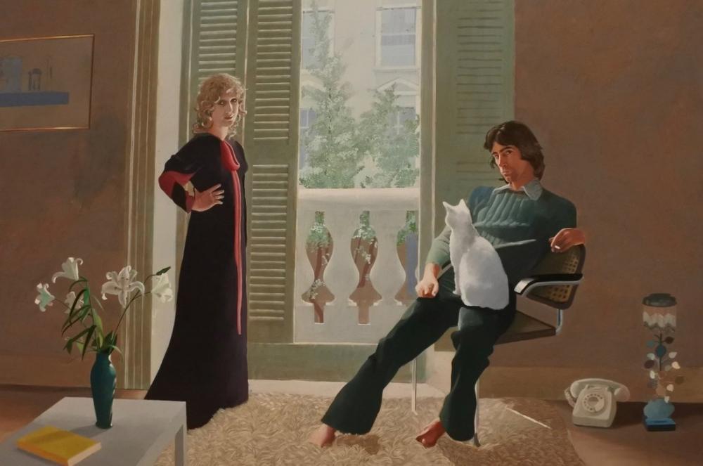 David Hockney, Bakmanın Sevinci, Figür, David Hockney
