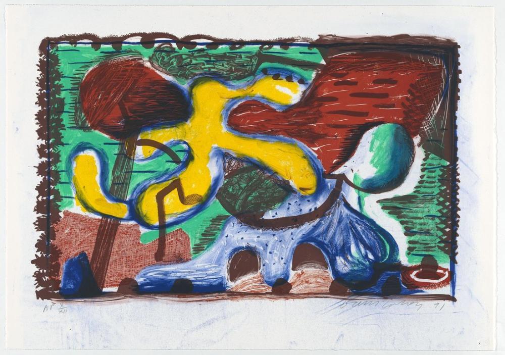 David Hockney, Yeni ve Eski ve Yeni, Figür, David Hockney