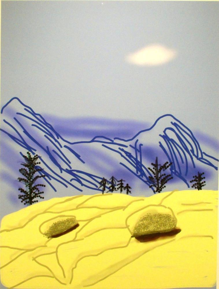 David Hockney, Yosemite Süiti, Kanvas Tablo, David Hockney