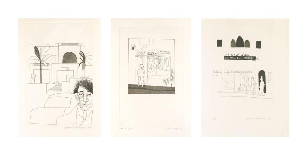 David Hockney, To Remain; The Win, Figure, David Hockney, kanvas tablo, canvas print sales
