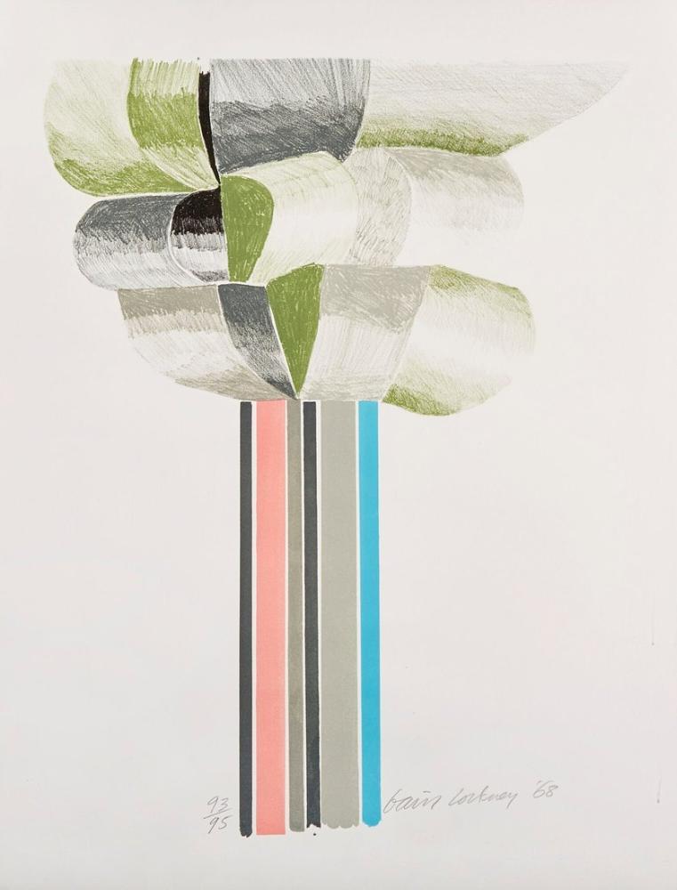 David Hockney, Ağaç, Figür, David Hockney