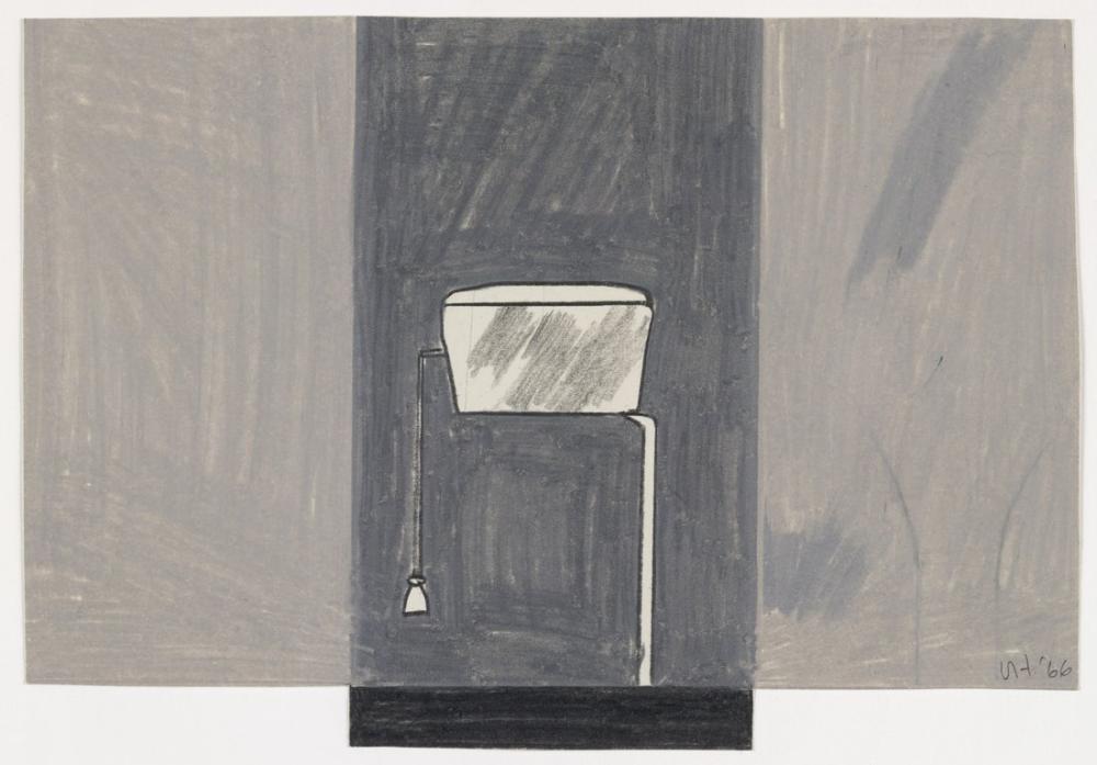David Hockney, Ubu s Closet 2, Canvas, David Hockney, kanvas tablo, canvas print sales