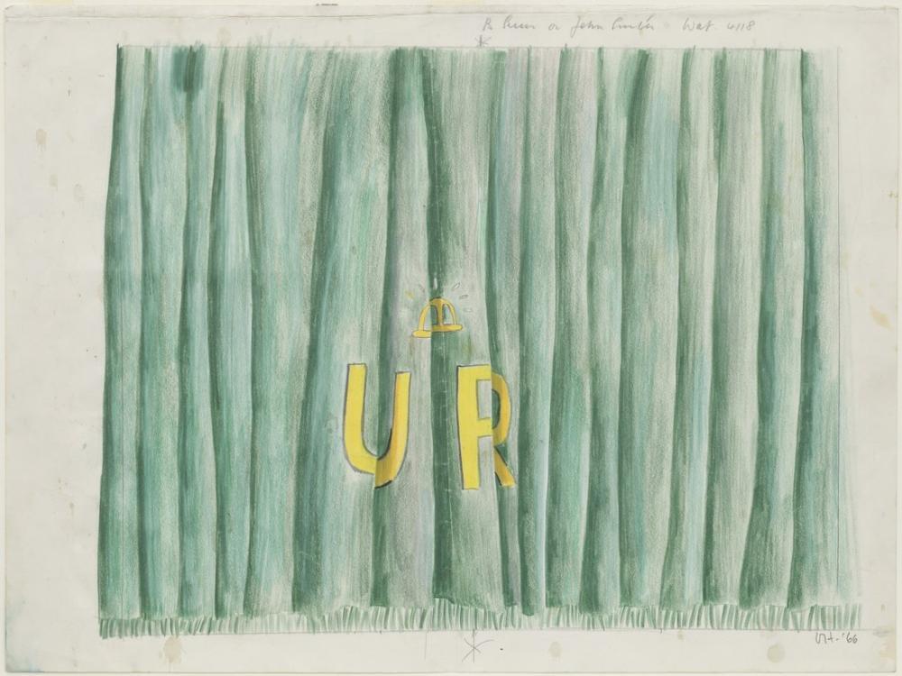 David Hockney, Ur Curtain, Canvas, David Hockney, kanvas tablo, canvas print sales