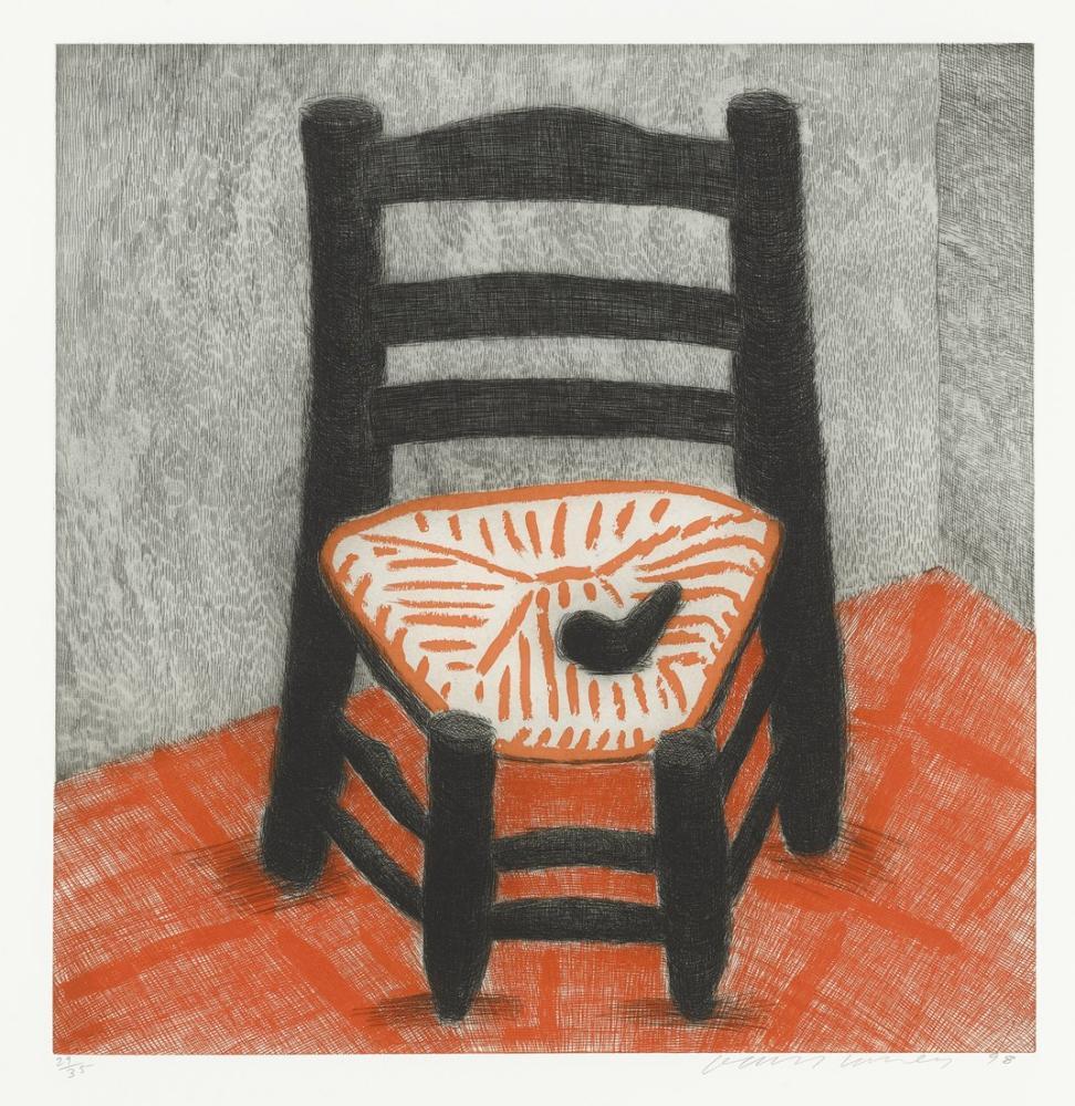 David Hockney, Van Gogh Chair, Canvas, David Hockney, kanvas tablo, canvas print sales