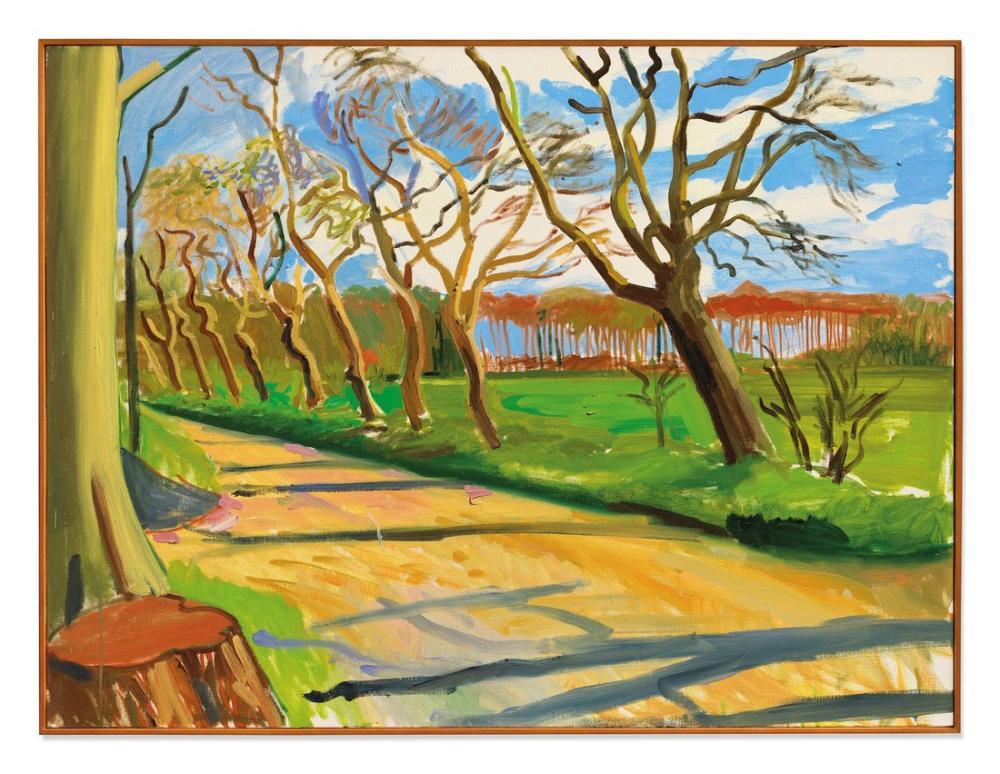 David Hockney, Walnut Trees, Canvas, David Hockney, kanvas tablo, canvas print sales