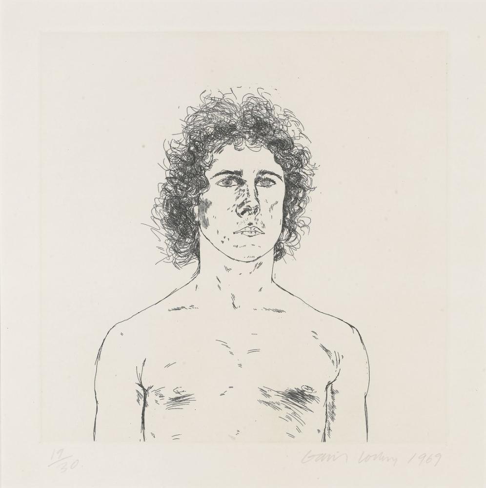 David Hockney, Wayne Sleep, Figür, David Hockney