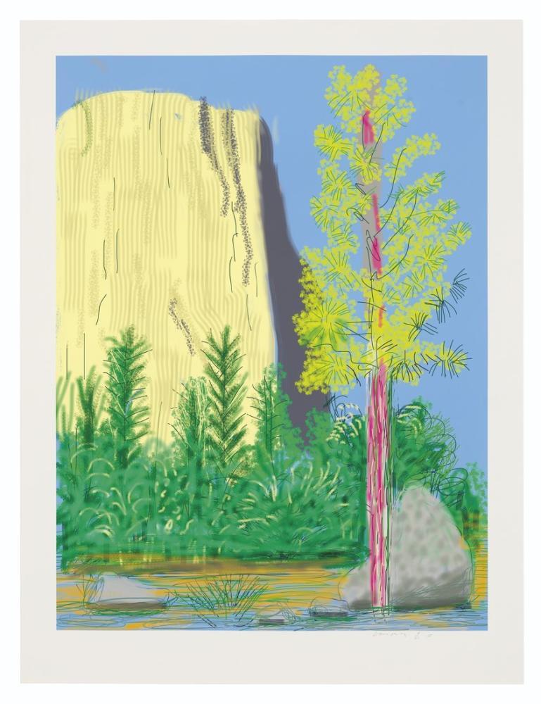 David Hockney, Yosemite Suite, Canvas, David Hockney, kanvas tablo, canvas print sales