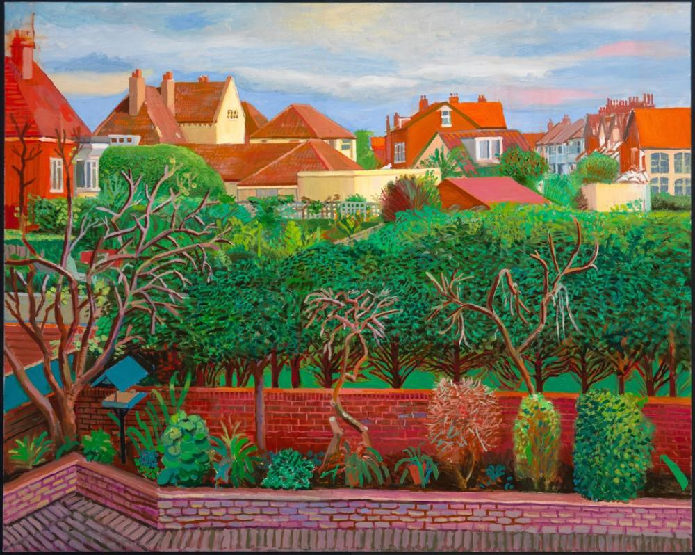 David Hockney, Bridlington, Kanvas Tablo, David Hockney, kanvas tablo, canvas print sales
