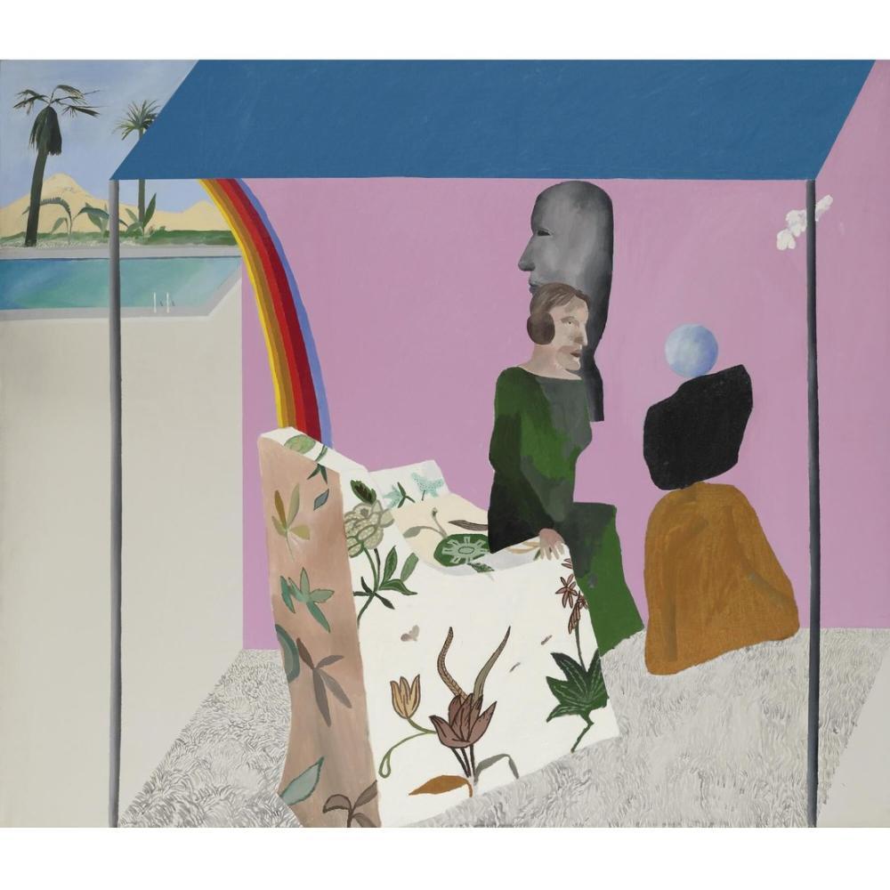 David Hockney, California Sanat Koleksiyoncusu, Figür, David Hockney, kanvas tablo, canvas print sales